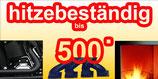 Hitzefeste Pulverlack 9005 Feinstruktur