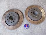 Bremsscheiben hinten 292mm innenbelüftet/ gelocht Saab 9.3 YS3F