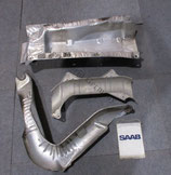 Hitzeschutzbleche 3 teilig Saab 9.3 YS3D