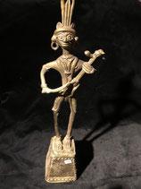 Musiker mit Streichinstrument Nr. 2 - Nagaland