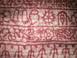 RAM Schals Baumwolle weiß