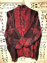 Kimono Seide/Kaschmir