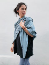 SQUARE SCARF airblue