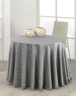 Falda mesa camilla verano color gris