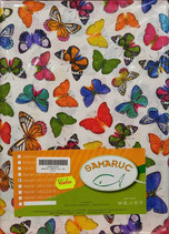 Mantel Loneta Samaruc Mariposas. Todas las medidas