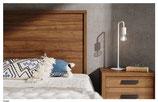 Cabezal madera marco 120 color Nogal