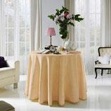 Falda mesa camilla verano color marrón claro