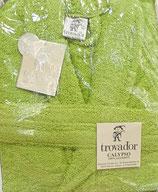 Albornoz Trovador algodón 100% Verde Pistacho