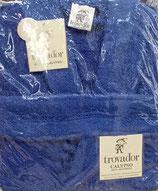 Albornoz Trovador algodón 100% Azul Marino