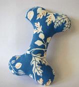"""Großer Knochen """"Blue Flowers"""""""