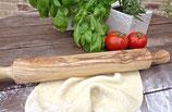 Teigroller / Nudelholz (mit Griffen) aus Olivenholz