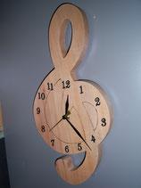 Horloge 'Clef de Sol'