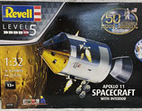Apollo Spacecraft with Interior
