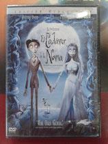 DVD EL CADAVER DE LA NOVIA