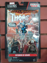 Marvel Legends Series - Secret Wars Comic 2 Pack Defenders of Asgard