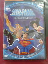 DVD LIGA DE LA JUSTICIA ILIMITADA