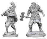 Dungeons & Dragons: Nolzur's Marvelous Unpainted Miniatures - Human Male Barbarians