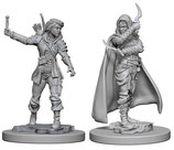 Pathfinder Battles: Deep Cuts Unpainted Miniatures - Human Female Rogues