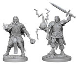 Pathfinder Battles: Deep Cuts Unpainted Miniatures - Human Male Clerics