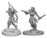 Dungeons & Dragons: Nolzur's Marvelous Unpainted Miniatures - Elf Female Rangers