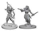 Dungeons & Dragons: Nolzur's Marvelous Unpainted Miniatures - Elf Female Rangers