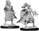 Dungeons & Dragons: Nolzur's Marvelous Unpainted Miniatures - Human Female Sorcerer