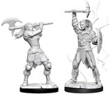 Dungeons & Dragons: Nolzur's Marvelous Unpainted Miniatures - Female Goliath Barbarian