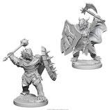 Dungeons & Dragons Nolzur's Marvelous Unpainted Miniatures: Dragonborn Paladin