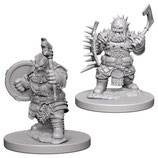 Pathfinder Battles: Deep Cuts Unpainted Miniatures: Dwarf Male Barbarian