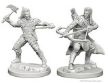 Dungeons & Dragons: Nolzur's Marvelous Unpainted Miniatures - Human Male Rangers