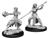 Dungeons & Dragons: Nolzur's Marvelous Unpainted Miniatures - Female Half Elf Monk