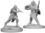 Dungeons & Dragons Nolzur's Marvelous Unpainted Miniatures: Elf Fighter