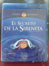 BLURAY GHIBLI EL SECRETO DE LA SIRENITA
