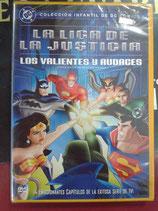DVD LA LIGA DE LA JUSTICIA LOS VALIENTES Y AUDACES