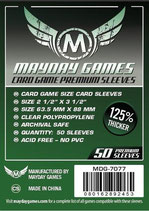 Micas MayDay Games - 63.5 x 88 125% Thicker
