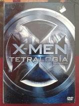 DVD X-MEN TETRALOGIA