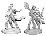 Pathfinder Battles: Deep Cuts Unpainted Miniatures - Human Female Sorcerers