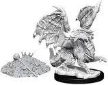 Dungeons & Dragons: Nolzur's Marvelous Unpainted Miniatures - Red Dragon Wyrmling