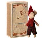 Weihnachtsmaus in der Box Junge
