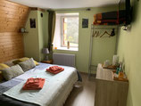 2 Chambres 1 à 2 personnes ( printemps et hiver )