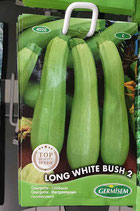 "Courgette ""Long White Bush 2"""