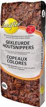 """Copeaux colorés """"ROUGE"""""""