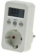 "Energiekosten-Messgerät ""CTM-806"" LC-Display, Messung bis zu 3680W"