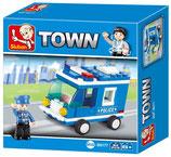 Polizeiwagen klein