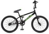 BMX fiets 20 Zoll Unisex Felgenbremse Schwarz/Grün