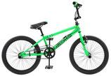 BMX fiets 20 Zoll Unisex Felgenbremse Grün, Gelb, Rot, Schwarz