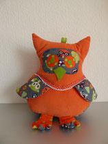 Uhu Kissen (orange mit Waldtieren)