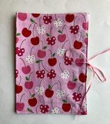 Gesundheitsheft-Hülle Cherries  (grün-rosa-rot)