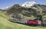 Unterwegs im Trans Alpin Express zwischen Graz und Zürich!