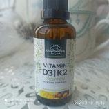 D3 +K2  1000i.E pro Trp (sonnenvitamin)